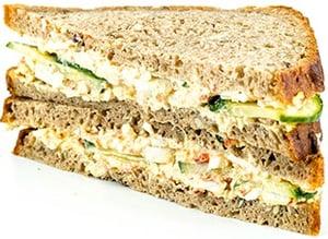 Sklizeno Žitný sendvič s vaječnou pomazánkou