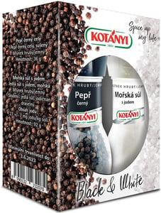 Kotányi Duopack mlýnky sůl a pepř