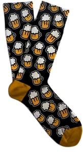 Soxit Ponožky Black Beer v dárkovém balení, vel.: 41-46