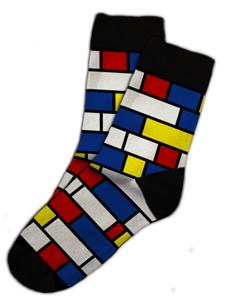 Soxit Dětské ponožky Mondrian v dárkovém balení, vel.: 30-35