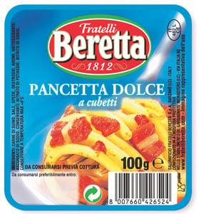 Fratelli Beretta Pancetta kostičky
