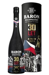 Baron Hildprandt ze zralých hrušek limitovaná edice 30 let od revoluce 40%
