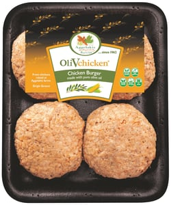 OliVChicken Olivové kuře - burger