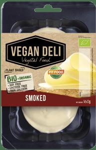 Fit Food BIO Veganská alternativa uzeného sýru plátky
