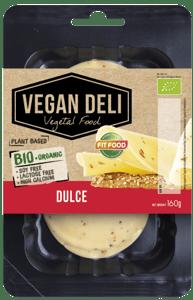 Fit Food BIO Veganská alternativa sýru dulce plátky