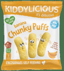 Kiddylicious Křupky banánové velké