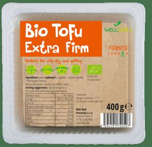 Well Well BIO tofu tvrdé v kelímku svodou