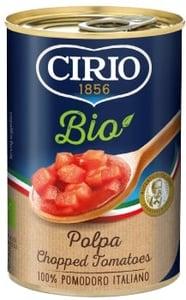 Cirio BIO Rajčata loupaná krájená