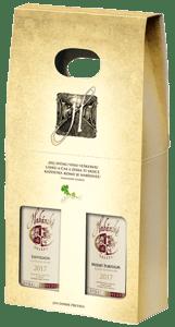 Habánské sklepy - Sauvignon a Modrý Portugal dárkové balení