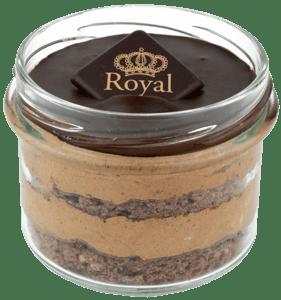 Ovocný Světozor-Royal dort