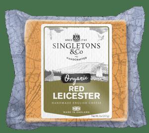 Singletons & Co BIO Red Leicester bloček