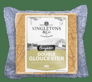 Singletons & Co BIO Double Gloucester bloček