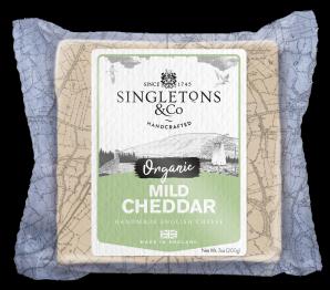 Singletons & Co Bio Mild Cheddar bloček