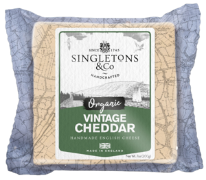 Singletons & Co BIO Vintage Cheddar bloček