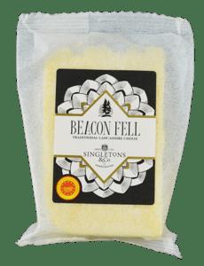 Singletons & Co Beacon Fell Traditional Lancashire Cheese PDO bloček