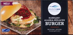 Deutsche See Burger z tresky MSC (mražené)