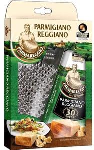 Parmareggio Parmigiano Reggiano EXTRA parmezán 30 měsíců + struhadlo
