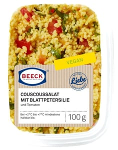 Deutsche See Beeck Kuskusový salát s rajčetem a petrželkou