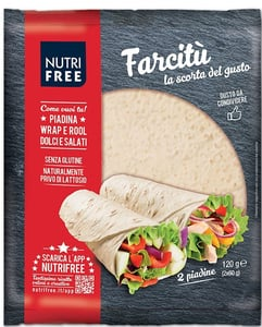Nutrifree Tortilla bez lepku