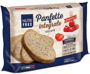 Nutrifree Panfette celozrnný krájený chléb bez lepku