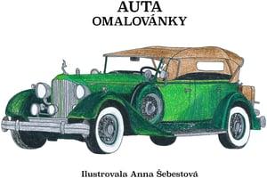 Veselá pastelka Omalovánky auta