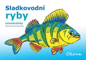 Veselá pastelka Omalovánky ryby