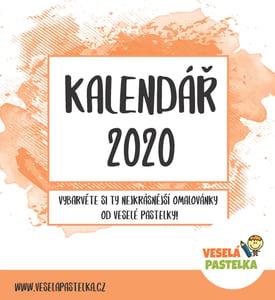 Veselá pastelka Kalendář 2020