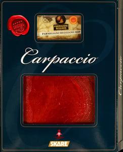 Skare Carpaccio s parmazánem a olivovým olejem