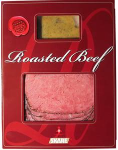 Skare Roasted beef s koprovo-hořčičnou omáčkou
