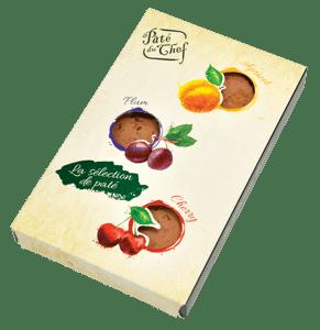 Pâté du Chef Paštiková bonboniéra s ovocem