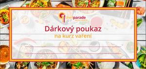 Dárkový poukaz Chefparade na kurz vaření