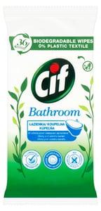 Cif Nature´s Biorozložitelné čisticí ubrousky do koupelny