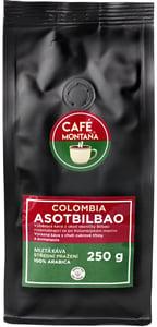 Café Montaña Colombia Asotbilbao mletá káva