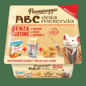 Parmareggio L'ABC bezlepkový snack