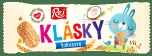 REJ Klásky - špaldové sušenky kokosové pack 4 ks