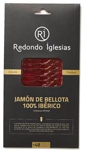 Redondo Iglesias Jamón Bellota (100%) vepřová kýta nejvyšší kvality krájená