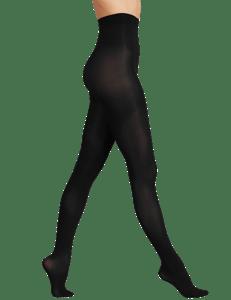 Marks & Spencer Sametově jemné punčochy 40DEN, černé, velikost L (UK)