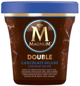 Magnum Double Chocolate Deluxe zmrzlina v kelímku