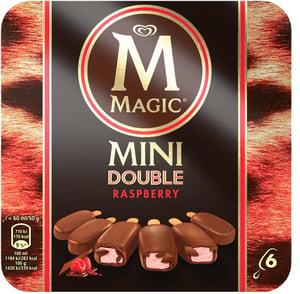 Magnum Mini Double Raspberry 6x60 ml