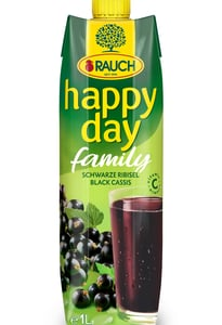 Rauch Happy Day family černý rybíz