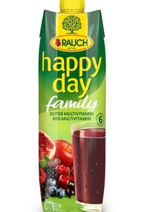 Rauch Happy Day family multivitamin red