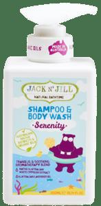 Jack N´Jill Natural Bathtime Serenity Přírodní sprchový gel & šampon