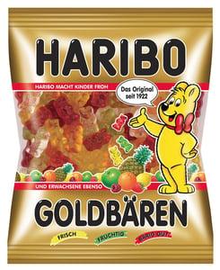 Haribo Goldbären želé s ovocnými příchutěmi