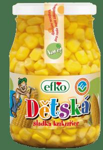 Efko Dětská sladká kukuřice