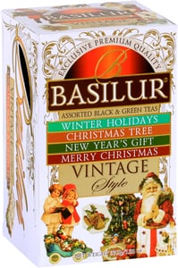 Basilur Vintage Assorted Black&Green Tea