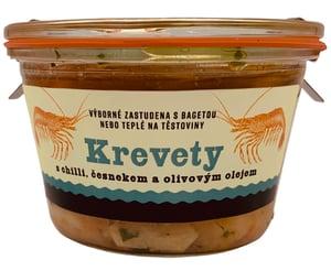 Fat Brothers Krevety v olivovém oleji s chilli a česnekem