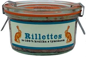 Fat Brothers Rillettes z králíka s tymiánem