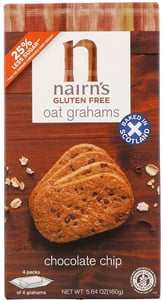 Nairn's Ovesné sušenky s čokoládou bez lepku