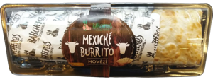 Rancheros mexické burrito - hovězí