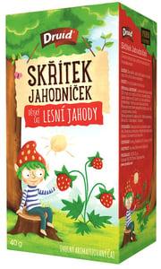 Druid Skřítek Jahodníček Dětský ovocný aromatizovaný čaj lesní jahody